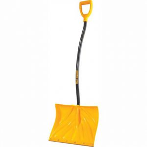 safe shoveling - ergonomic shovel