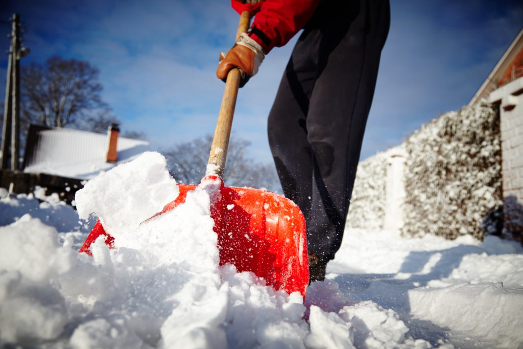 Safe shoveling - preventing winter injuries