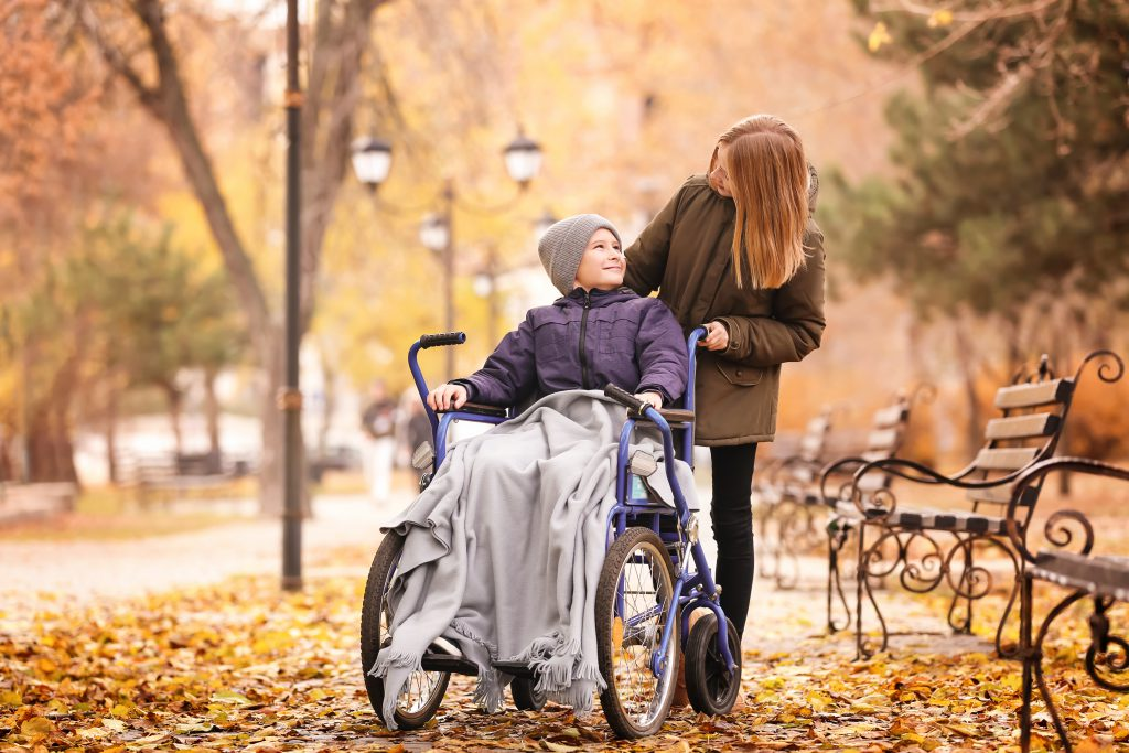 living with Duchenne muscular dystrophy - assistive devices