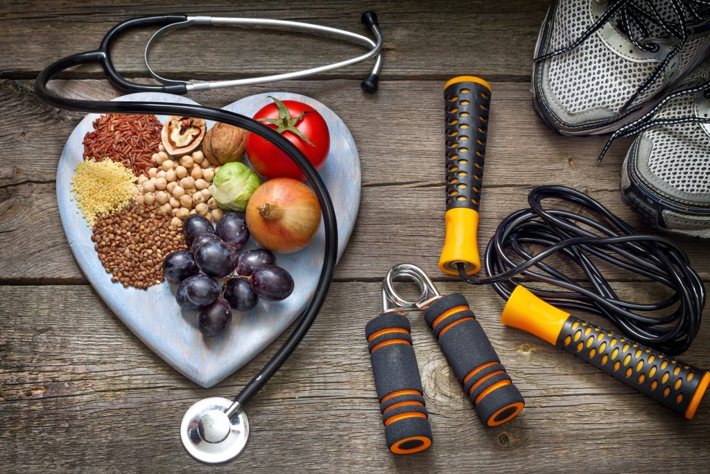 whole body health - nutrition and exercise