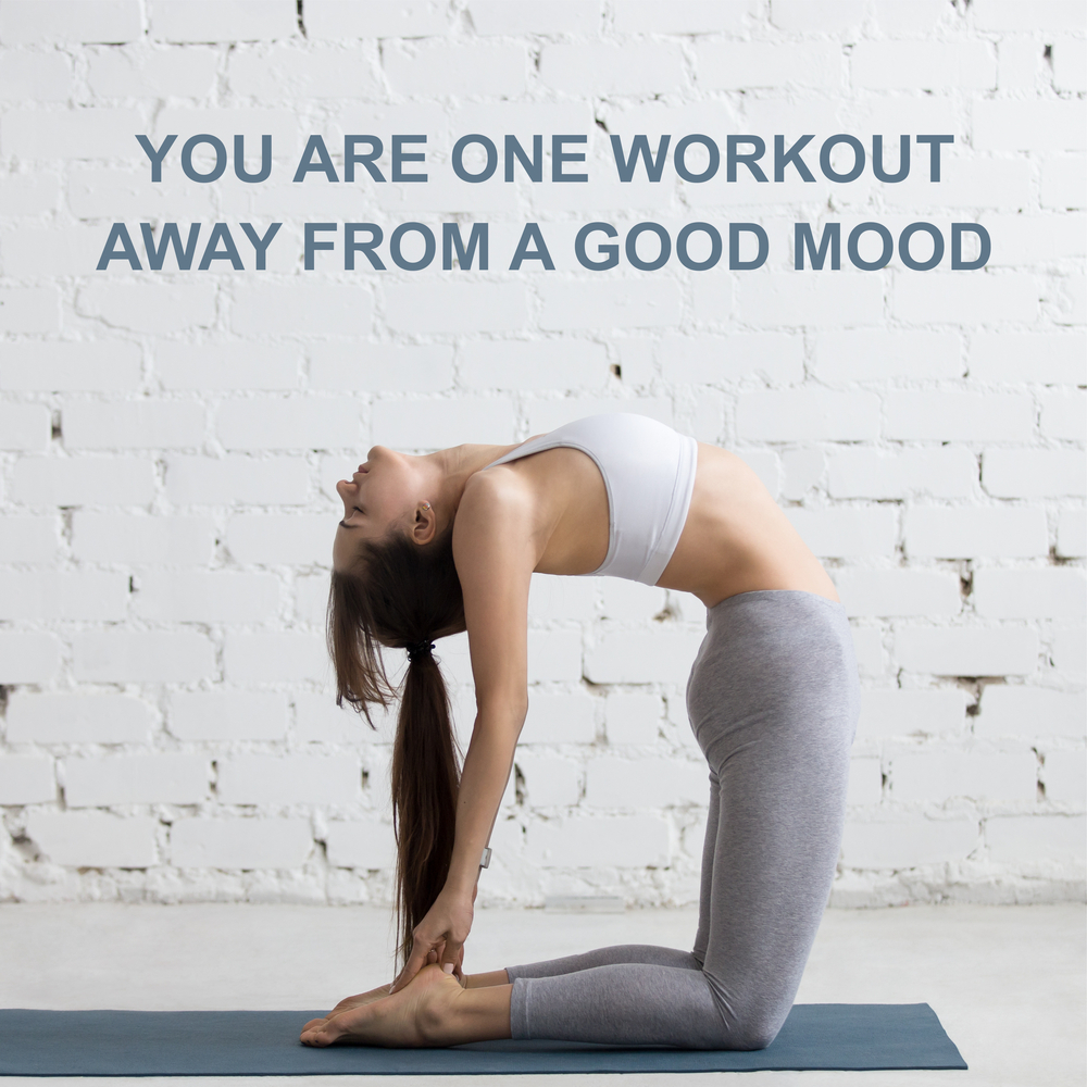 exercise and mood - stretching